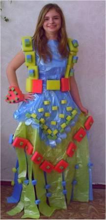 Мастер класс платья из шифона